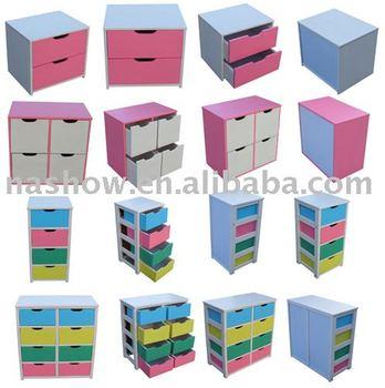 Kids Cupboard And Children Box