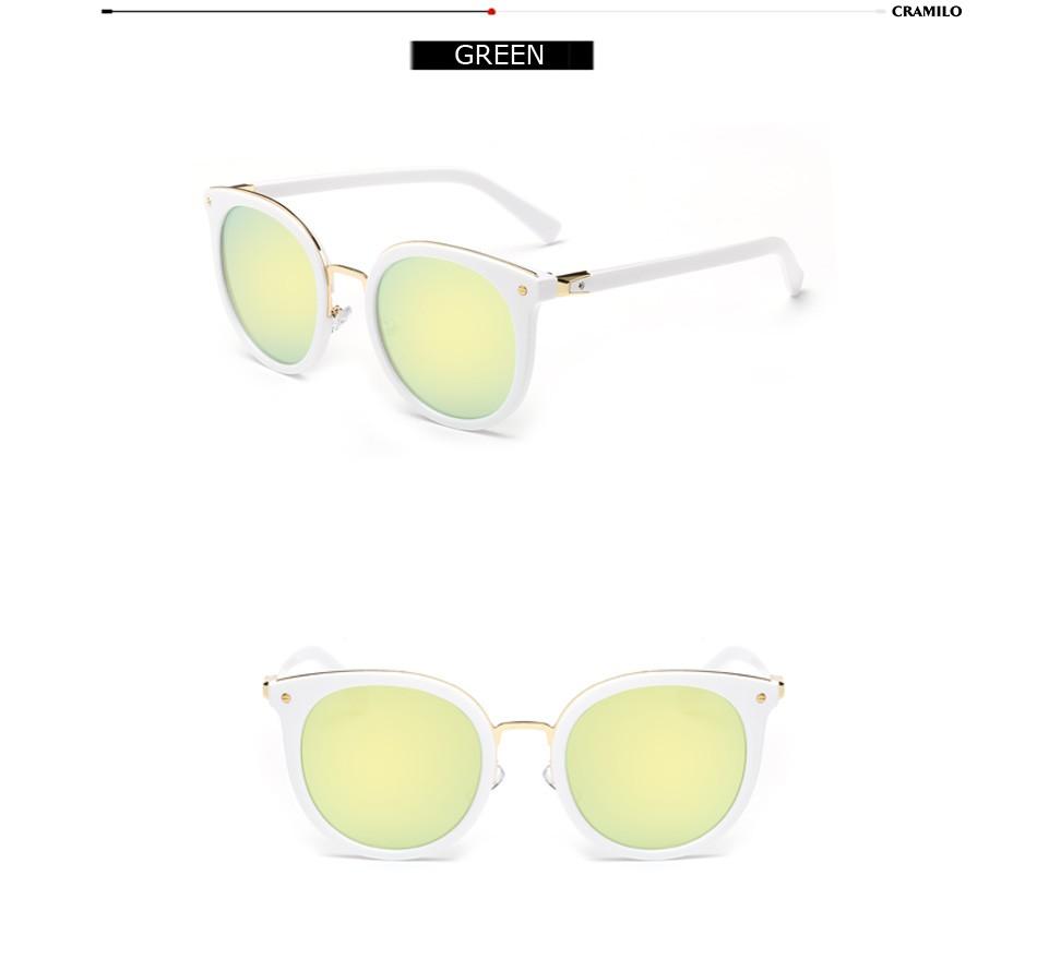 Glasses Frames Virtual Mirror : 2016 Alloy Round Sunglasses Women Men Retro Coating Mirror ...