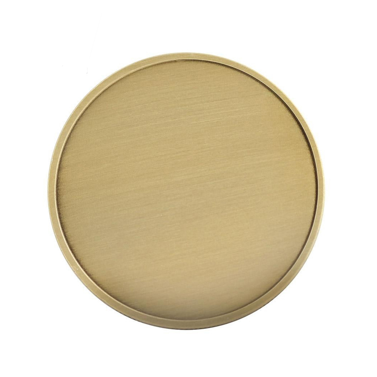 Wholesale high quality cheap blank gold souvenir game token custom metal coins