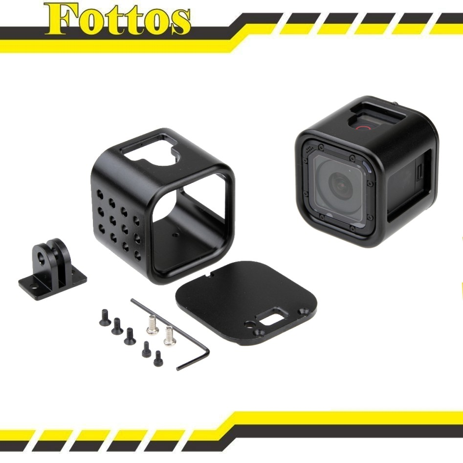 Top selling metal protective gopro hero 4 session housing