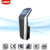 China manufacturer shopping mall android touch screen queue system kiosk wifi/3G all in one