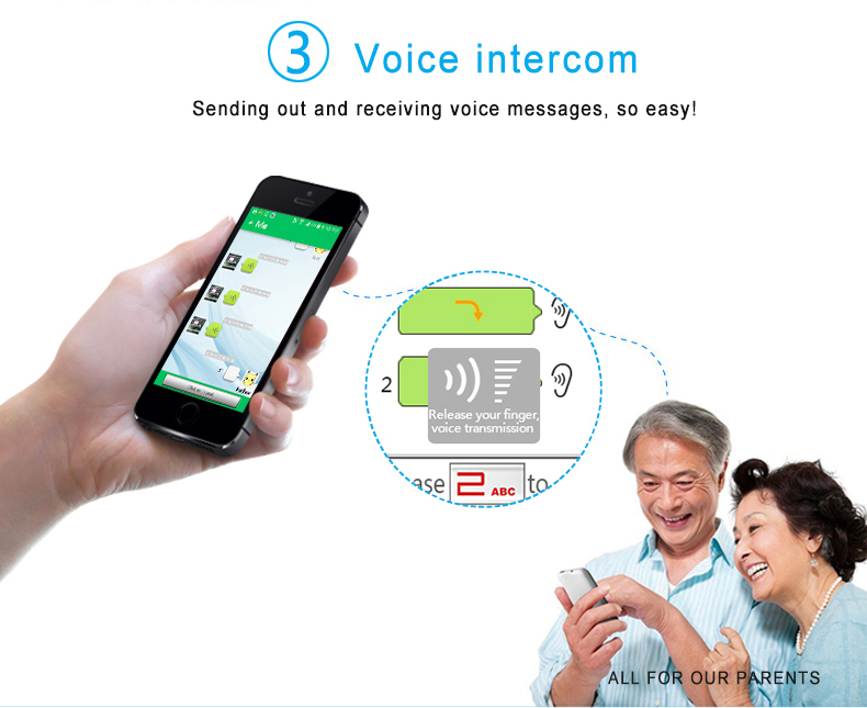 New design mobile phone elderly manufactured in China
