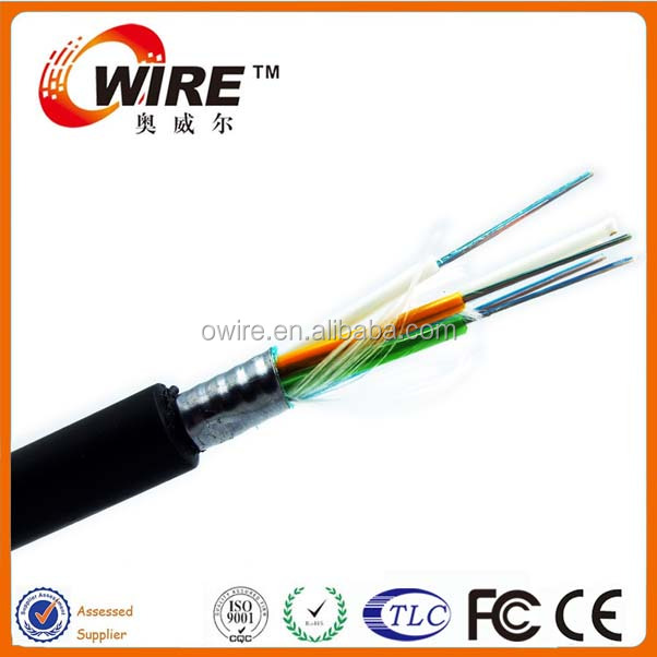 GYTS Duct and Non-Self Supproting Aerial Cable Optic Fiber Cable