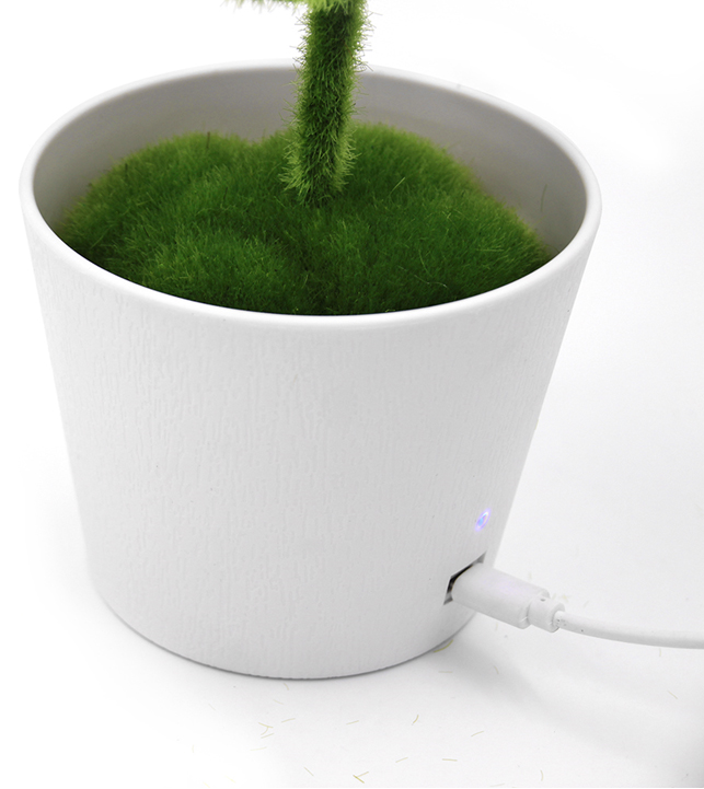 2019 Online New Trending Negative Ions Portable Mini Plant Office Desktop Air Purifier JO-732