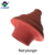 Wooden handle double layer rubber strong toilet plunger wholesale, decorative toilet plunger