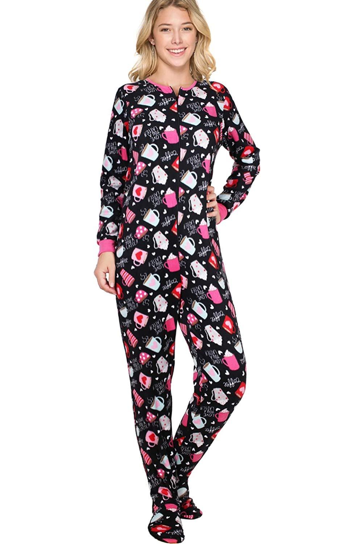 1e1c61d6c364 Cheap Footie Pajamas For Women