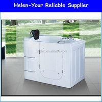 Wholesale High Quality Acrylic Walk In Baths Elder People Bathtub NO.AT-104