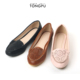 New arrival cheap price ladies leather flat shoes in dubai