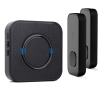 Factory direct professional 55 ringtones loud sound remote control 300m electronic wireless doorbell