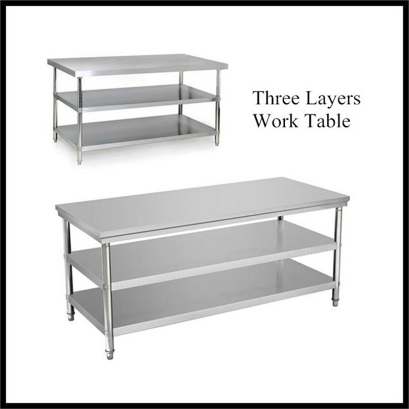 Stainless Steel Working Table 3 Tier, Stainless Steel Working Table 3 Tier  Suppliers And Manufacturers At Alibaba.com