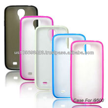 For Sumsng Galaxy S4 Matte PC +TPU 2 IN 1 Mobile Phone Case