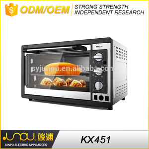 45L home kitchen white or black oven toaster electric oven pig rotisserie