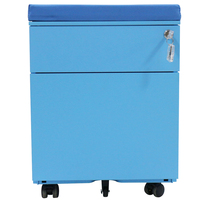 Full Colour 3-drawer File Dock Computer Cabinet Mobile Pedestal Staff Office mobile pedestal for office equipment