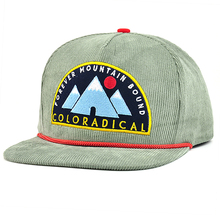 Flat <span class=keywords><strong>bill</strong></span> borduurwerk patch custom snapback corduroy caps