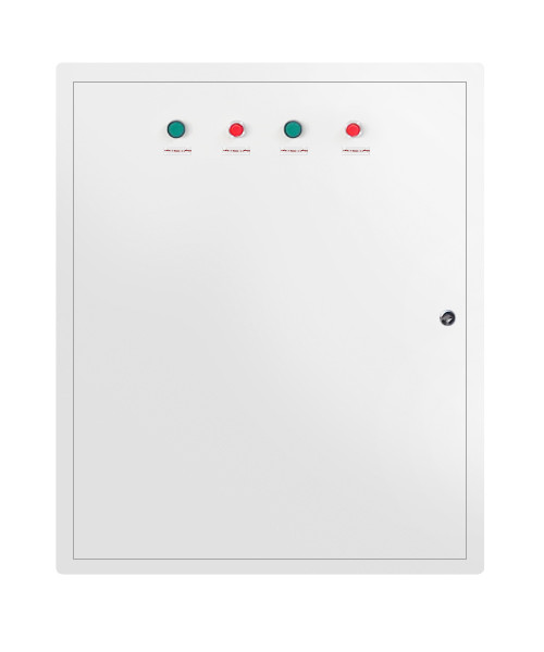 fully stocked wall-mounted pole-mounted 12 way distribution board
