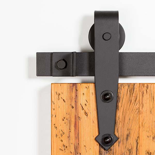 8ft operaci n susurro hardware correderas exteriores for Puertas correderas de granero precio