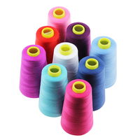 Spun yarn 100% polyester material 42s sewing thread for jeans