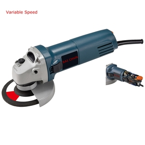 China electric power tools 670W 115mm electric angle grinder