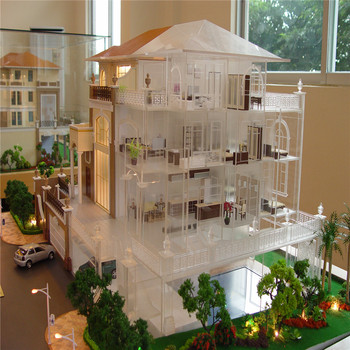 Miniature house model