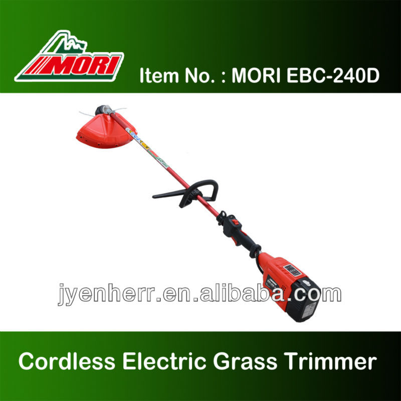 Echo-friendly Electric Brush Cutter, cordless grass trimmer