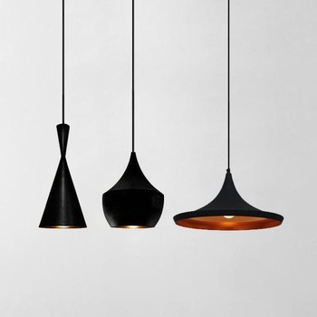 Modern Beat Black Chandelier Pendant Light