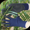 SRSAFETY 13g navy bule coated foam black latex glove products/garden gloves/safety gloves