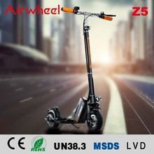 Airwheel Z5 hot sale 20KM distance 350 Watt power folding electric scooter for adult