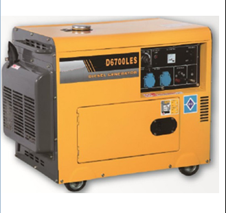 Trade assurance HF-D6800LES small diesel generator set 5kw