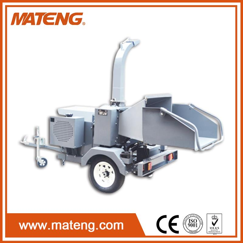 Professional trailer mounted wood chipper for wholesales