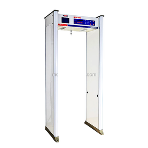 8 Zones Walk Through Metal Detector Designed for Hotel / Metal Bomb Detector Gate For Airport Subway MCD-800A