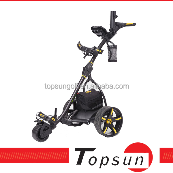 2014 Topsun New remote sport golf trolley