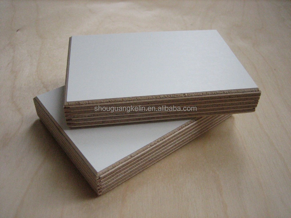 glossy, matt, solid color, wood grains melamine plywood