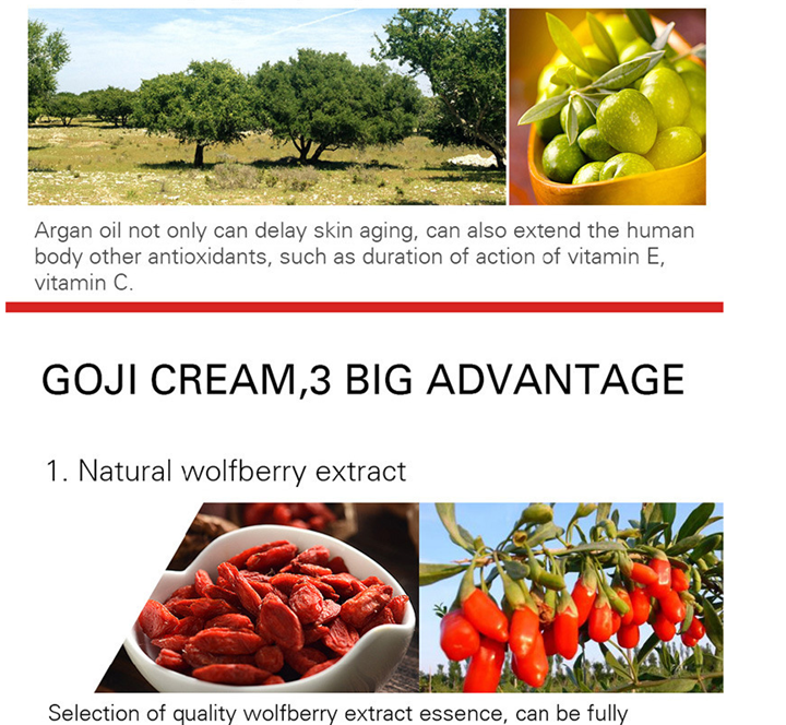 Goji Whitening Cream Serum facial Anti-rimpel Moisturizer Gezichtsverzorging Best Selling