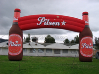 cheap wine bottle inflatable advertising arch
