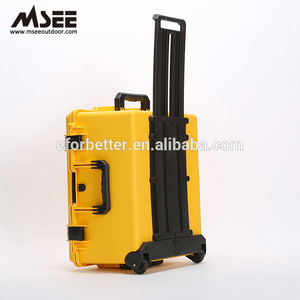 Big case hard plastic injection molded hard plastic waterproof nail gun case tsunami bag