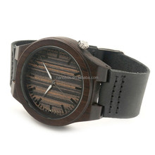 Hot sell Attractive Wrist Wooden Watches Men Luxury accept free custom logo on watch back