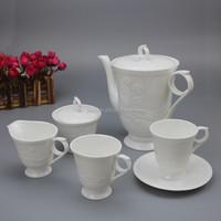 tea set porcelain, porcelain teapot and cup set