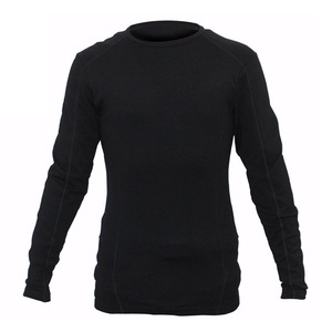 Wholesale Fashion oem merino wool mens sport pullover o-neck long sleeve t shirt