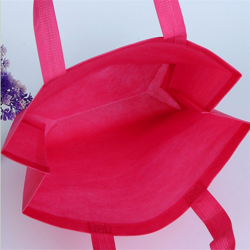 Promo Eco-friendly rope handle folding non woven shopping bag
