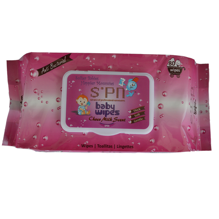Skin Care Natural Tender Soft Baby Water Wet Wipes for Body and Hand Clean