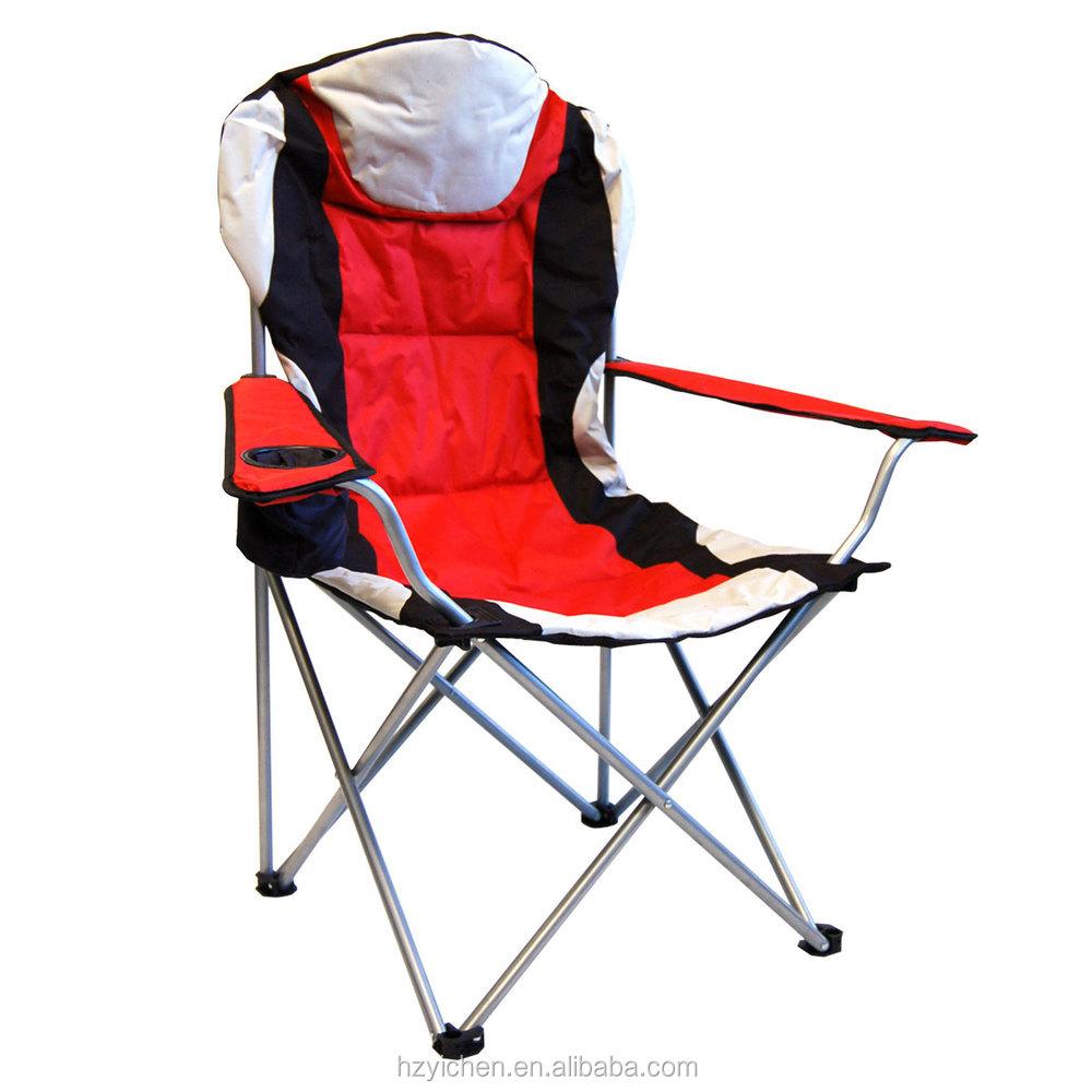 apoyabrazos de lujo silla de camping