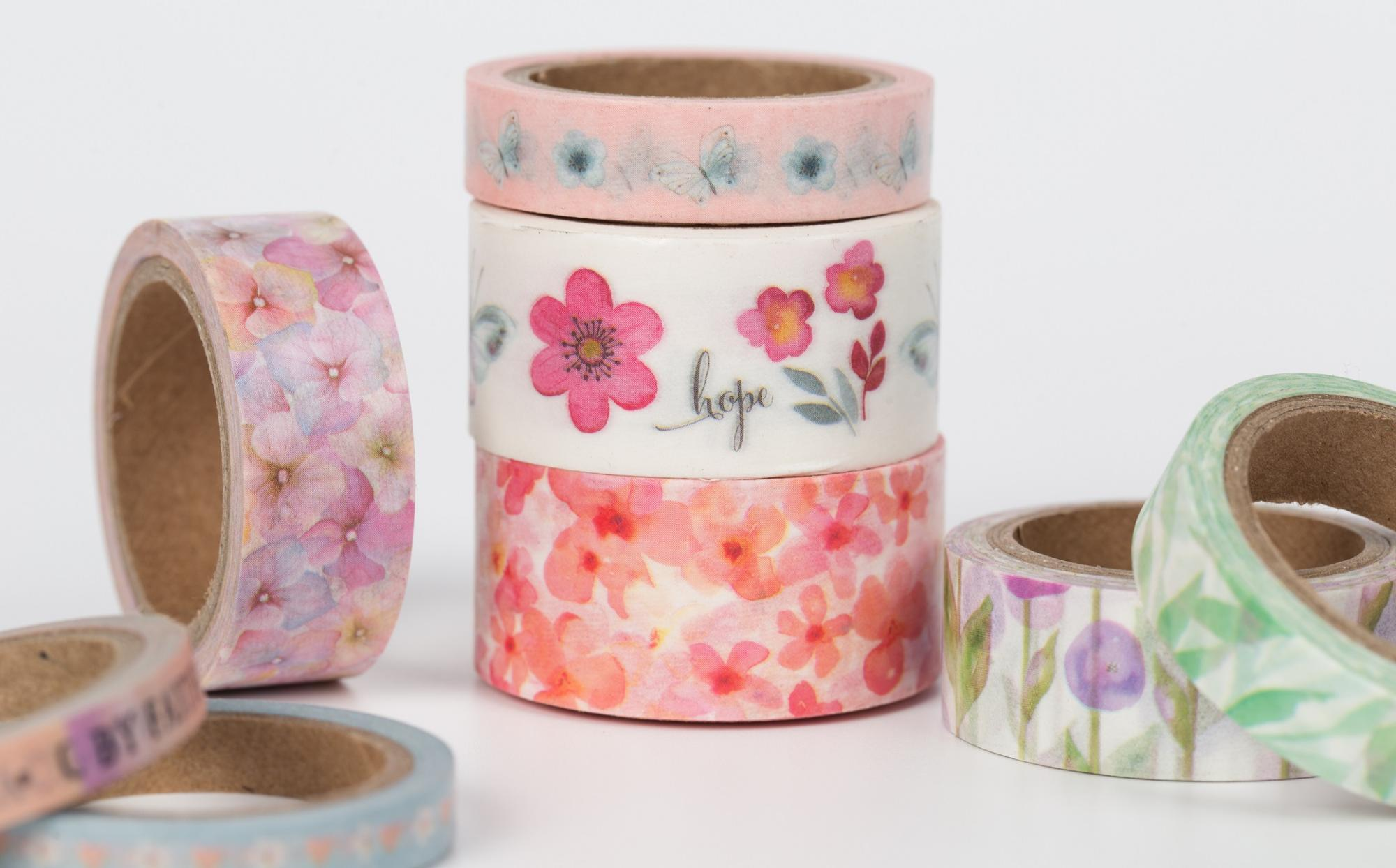 Custom Printed Decorative color washi masking tape washi tape