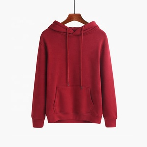 Wholesale Blank Cotton Hooded Couple Sweatershirts Hoodies Unisex