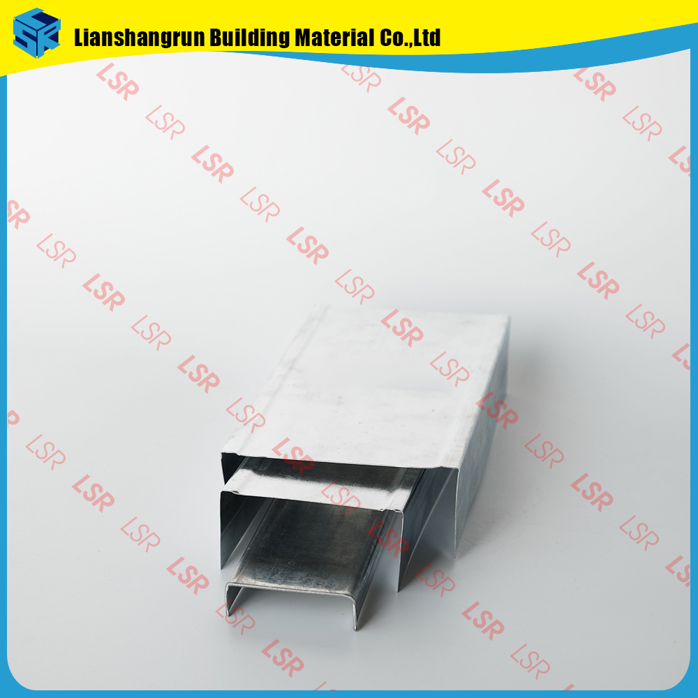 China galvanized light steel joist for ceiling partition system