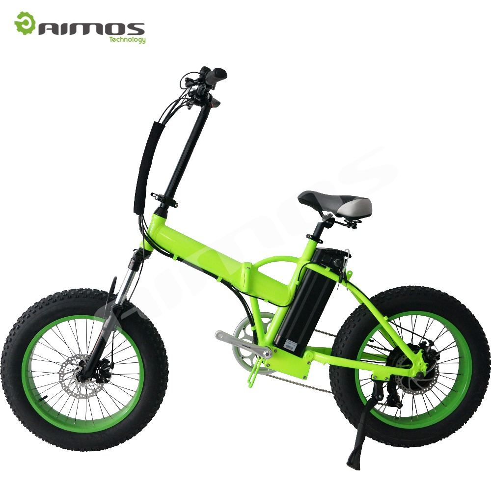 Aimos CE certified cool adult foldable moped pedal cheap price electric bike