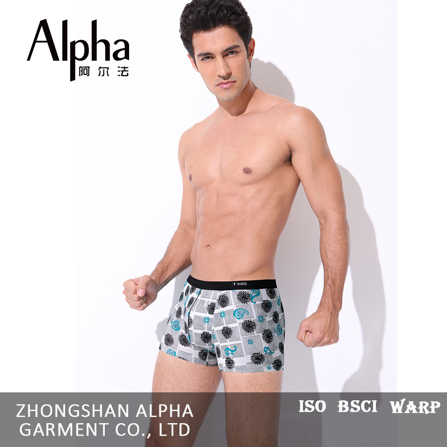 Latest style OEM/ODM young man underwear