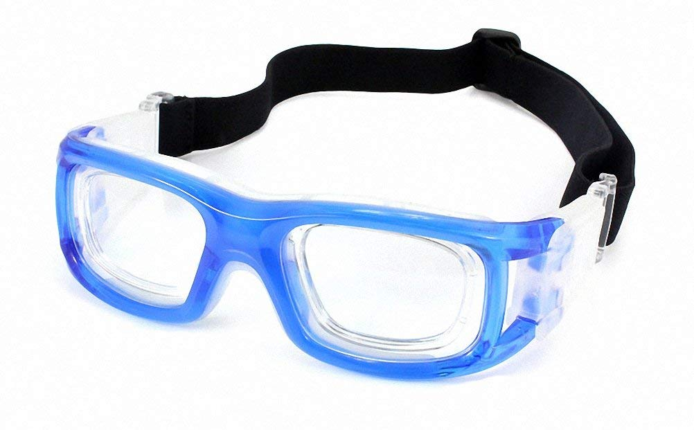 4293b4e2f39 Get Quotations · Basketball   Football Avant-garde Fashion Sports Glasses  Antifog Anti Shock Collision Wearable Glasses Sports