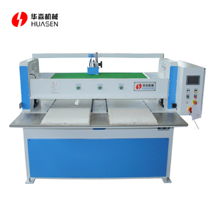 Sliding platform slipper sole shoe press cutting machine