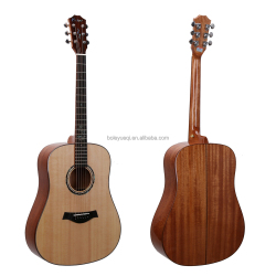 Hot Sale 41 inch 6 strings acoustic guitar with Mahogany wood