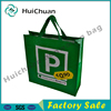 Factory customized cheap laminated green China pp woven shopping bag
